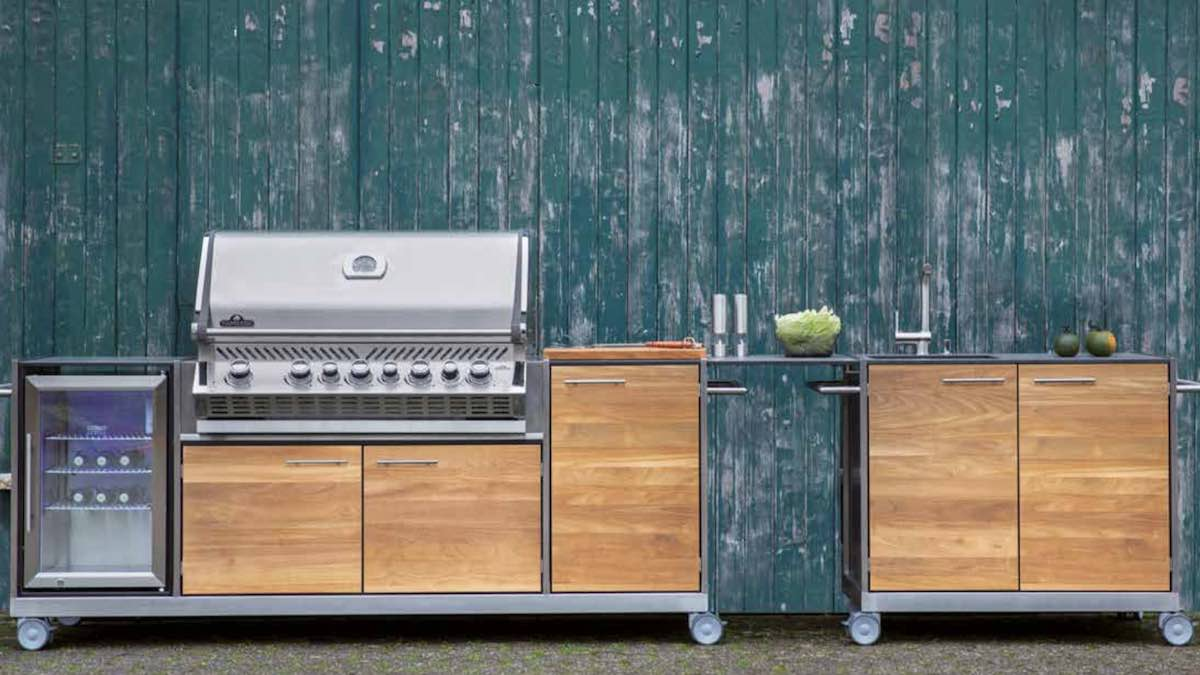 Outdoor kitchens: variety for every taste