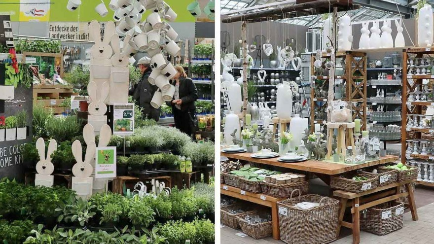 Herbs, rabbits and more ... POS design in spring. – Photo: O. Mathys