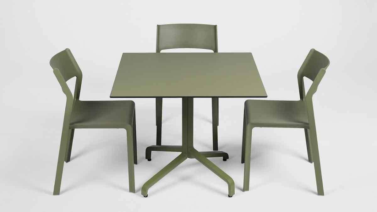 Frasca Tischgestell von Nardi (Design: Raffaello Galiotto)