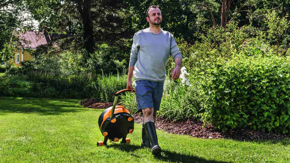 Garden work made easier and healthier