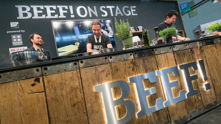 BEEF! ON STAGE - SIMPLY RAW mit Jan Spielhagen (Chefredakteur BEEF!), Halle 8