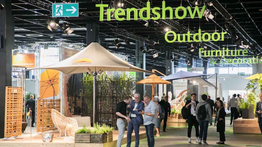 Trendshow Outdoor Furniture & Decoration, Halle 10.2