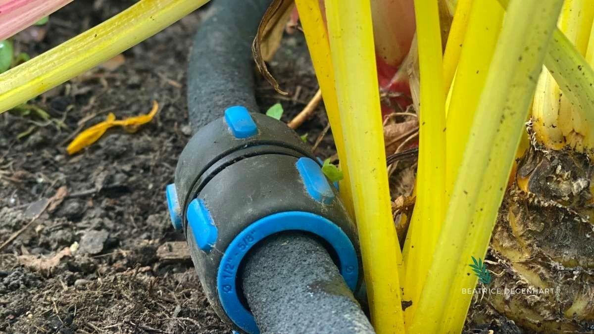 Der Fiskars Tropfschlauch ist das ideale Werkzeug für neue Pflanzungen, Sträucher und Hochbeete und liefert Wasser direkt an die Wurzeln, während die Blätter trocken bleiben.