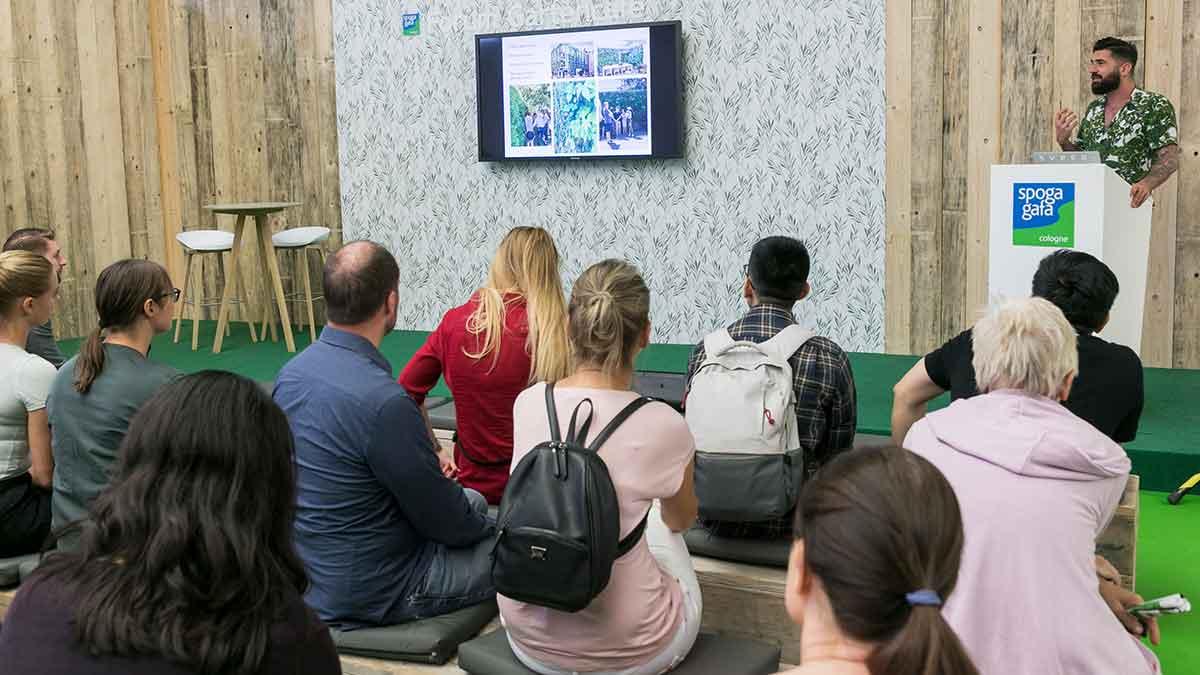 spoga+gafa: Impressionen Gartencafe Forum