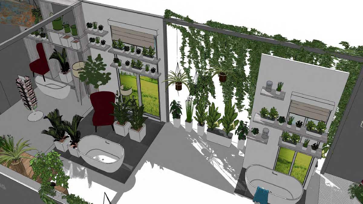spoga+gafa: 'Naturnahes Wohnen – Indoor Gardening' - Der Garten in der Wohnung in Zeiten zunehmender Verstädterung.