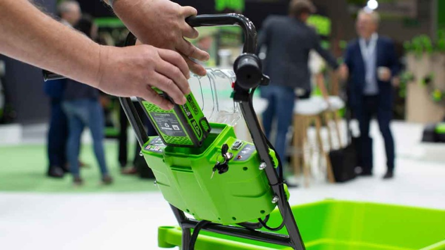 IVG Power Places Akku and the Power Place City Gardening World at spoga+gafa