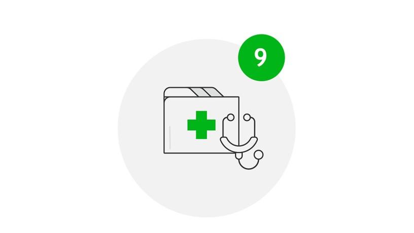 Stay Safe, Medizinischer Dienst