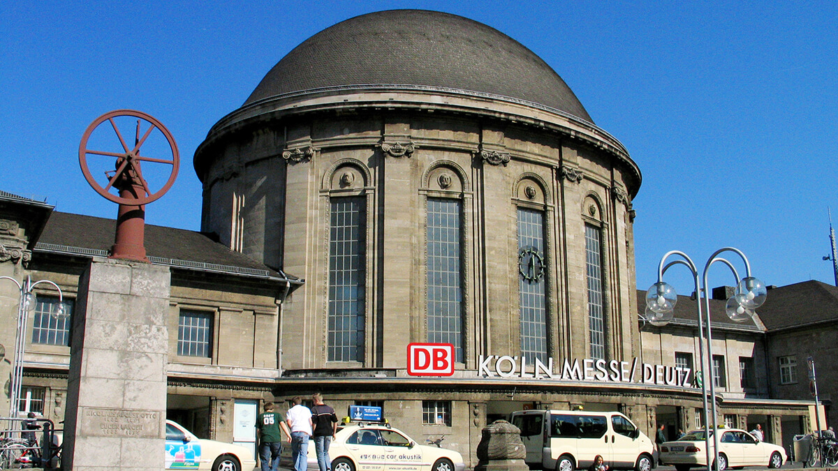Köln Messe/Deutz station