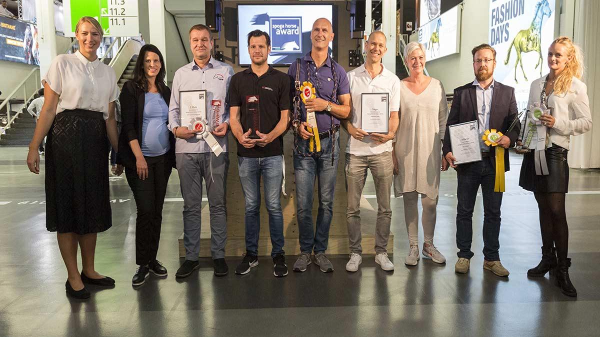 Winners spoga horse award 2019