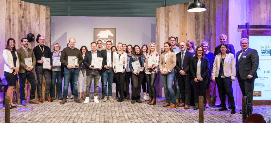 The winners of the HIPPO Dealers Award 2019