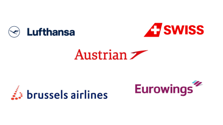Discounted travel with Lufthansa Group Partner Airlines