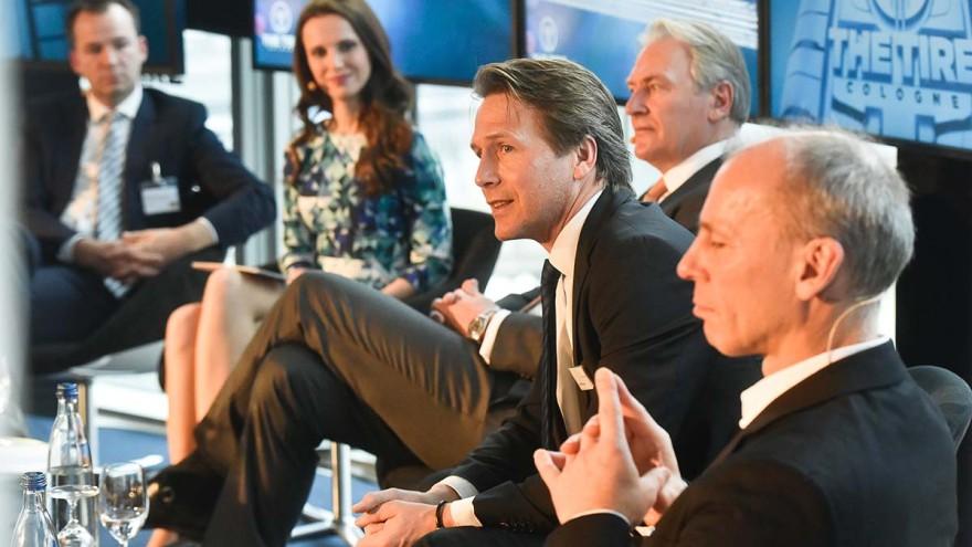 European press conference on TIRE 2018 at Köln Sky