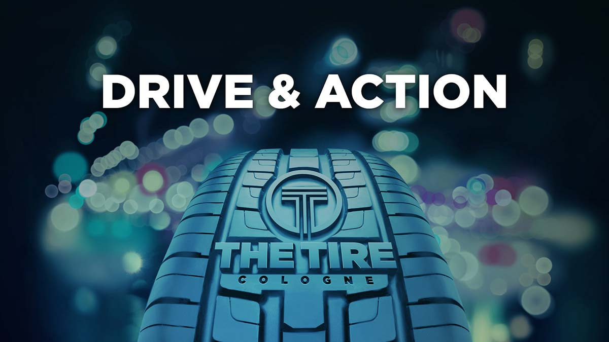 Drive & Action: Take off at THE TIRE COLOGNE