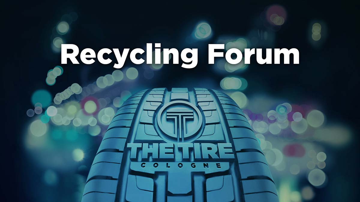 The Recycling Forum at THE TIRE COLOGNE 2018 at a glance