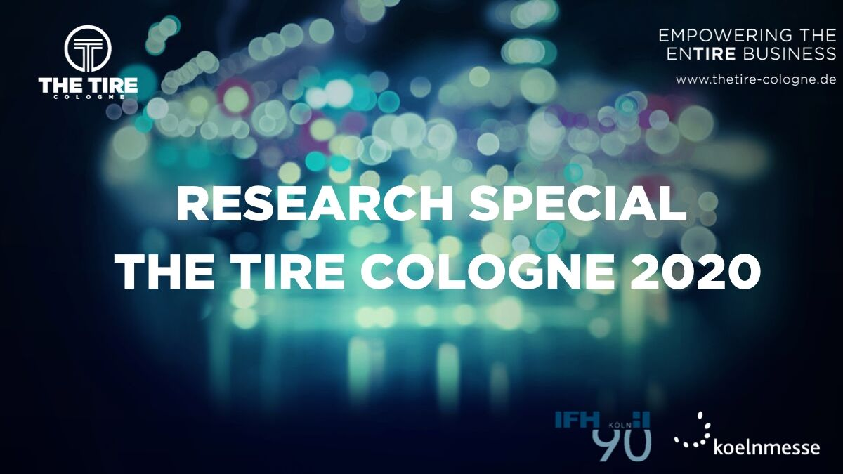 What moves the tyre industry? The latest study by THE TIRE COLOGNE provides answers.