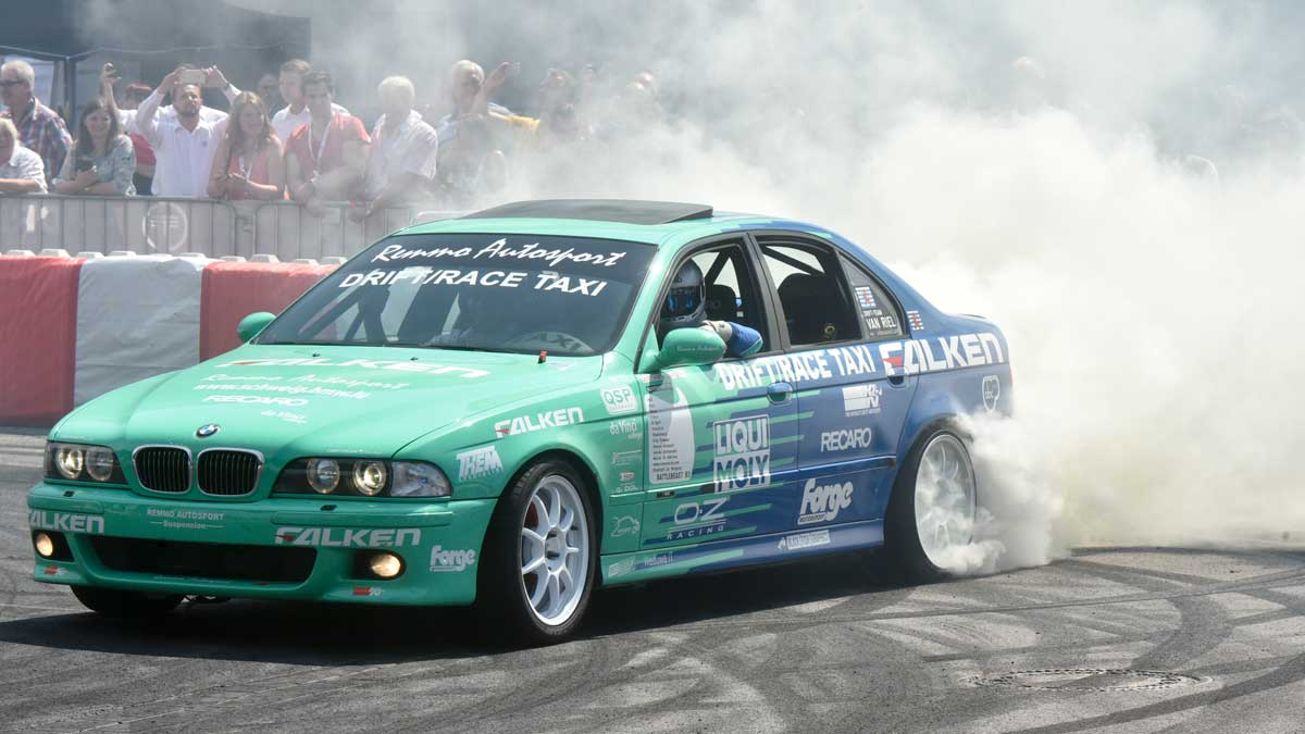 FALKEN TYRES DRIFTS TOWARD THE TIRE COLOGNE