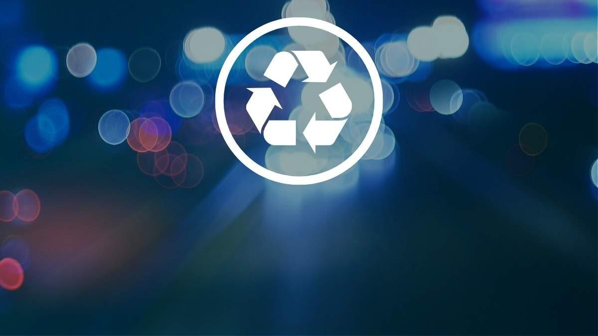 Runderneuerung und Recycling
