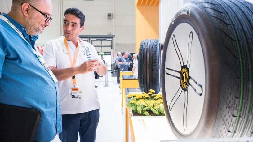 Information for exhibitors at THE TIRE COLOGNE