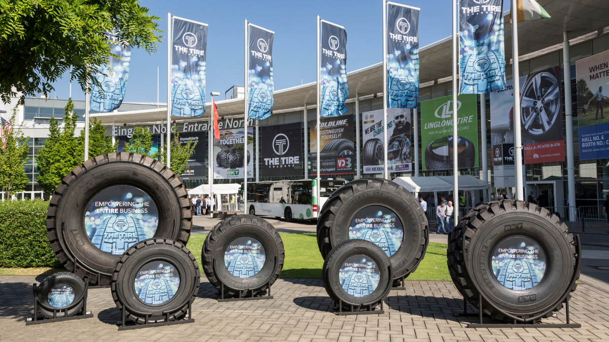 THE TIRE COLOGNE vor Ort