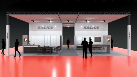 Messestand der Deutsche Arturo Salice GmbH auf der ZOW