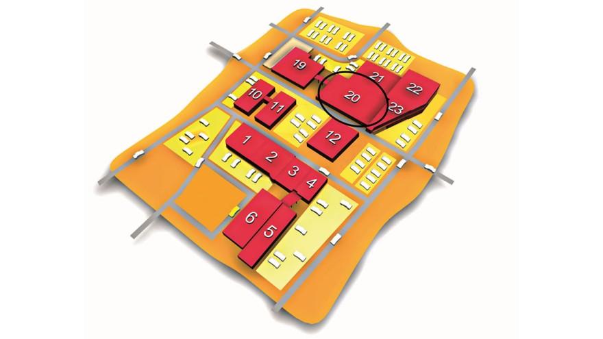 Die ZOW 2020 findet in der Halle 20 des Messezentrums Bad Salzuflen statt.